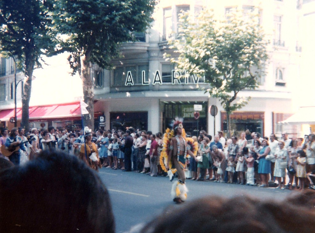 Nationaldag i Nice den 14 juli 1976
