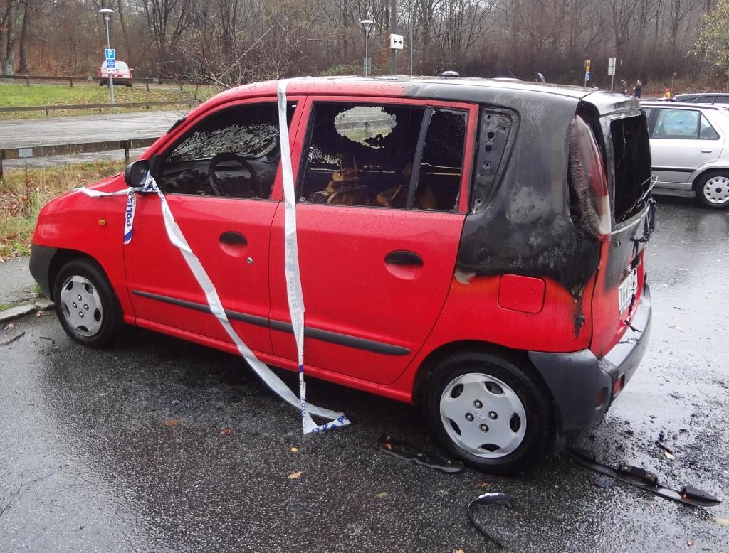 """""""Bränn inte min bil"""""""