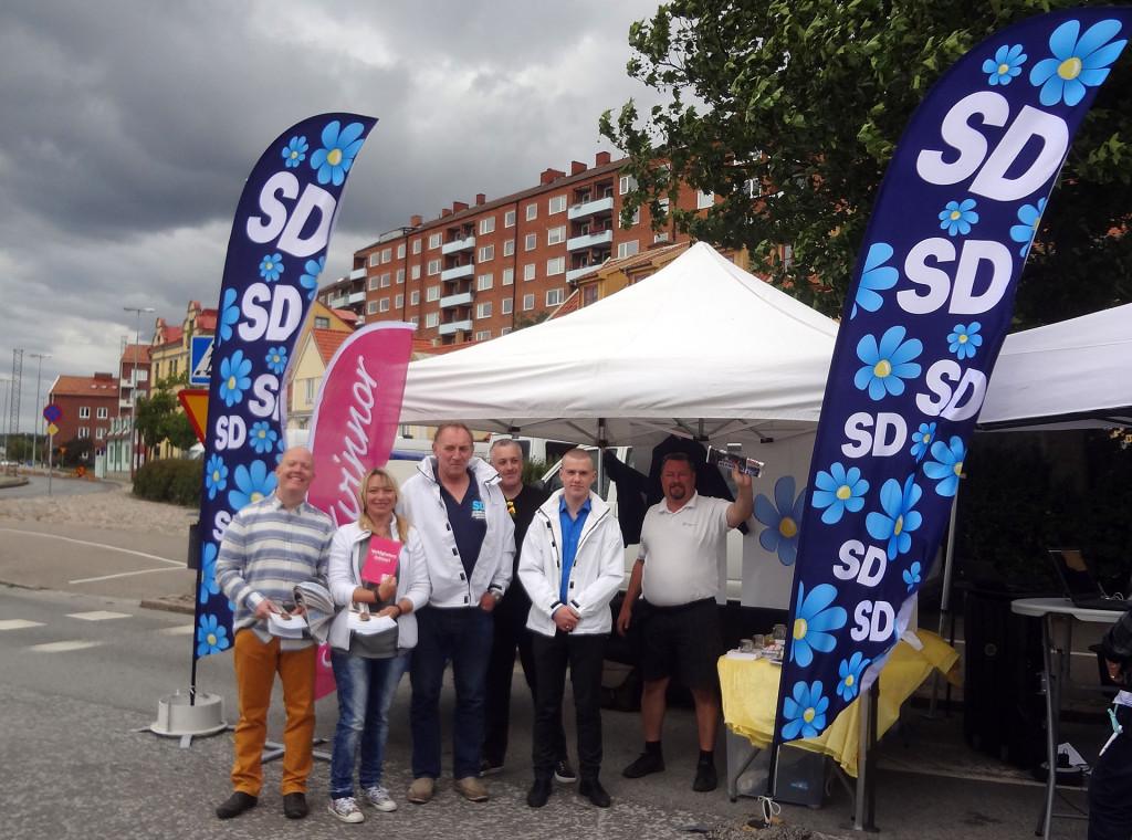 SD på Skärgårdsfesten 2016-08-06