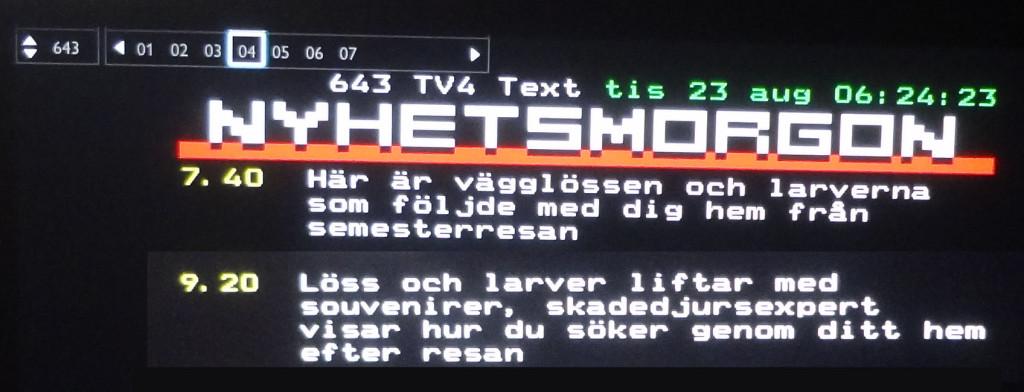 """""""Svenskarnas resevanor"""" igen!"""