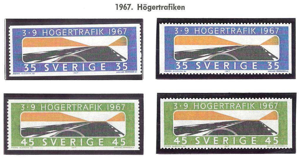 Idag för 49 år sedan infördes högertrafik i Sverige