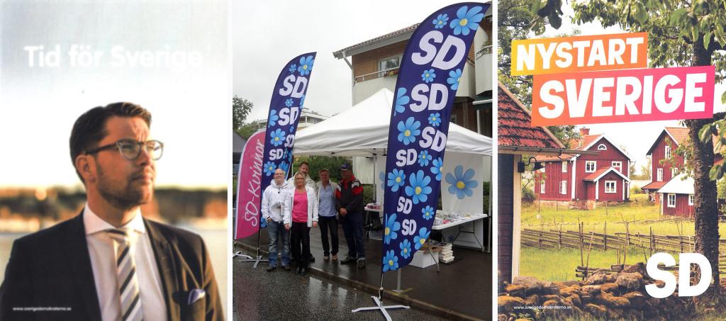 SD på Lyckeby Marknad 2016