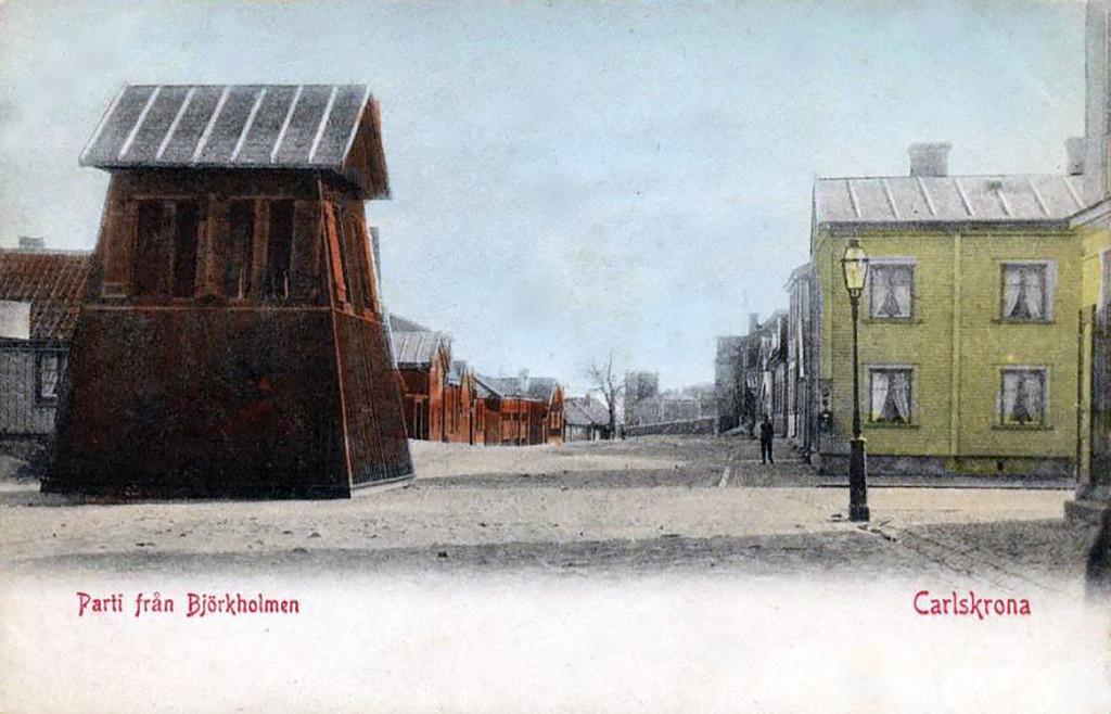 Klockstapeln på Björkholmen