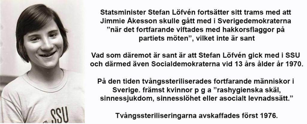 Stefan Löfvén tramsar vidare