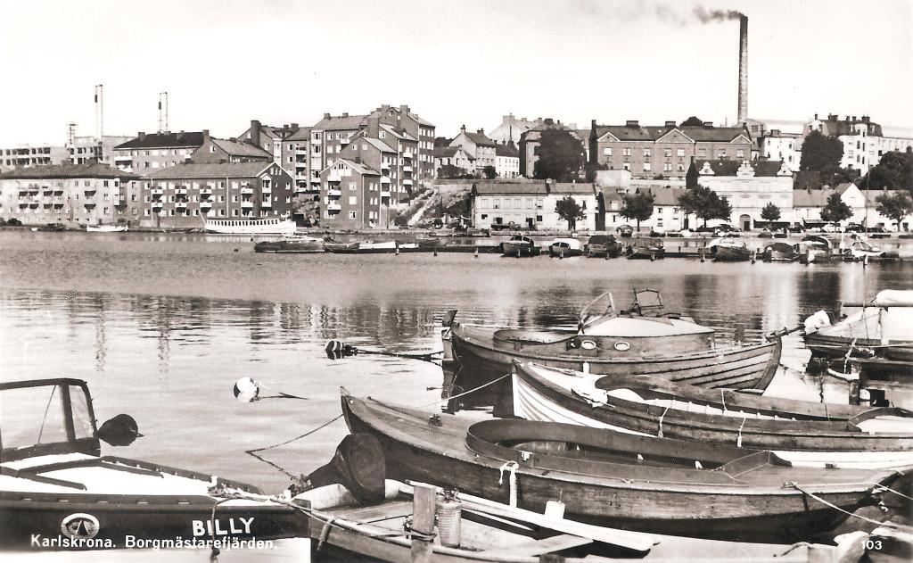 Borgmästarefjärden 1953