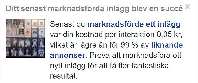 Marknadsföring på Facebook?