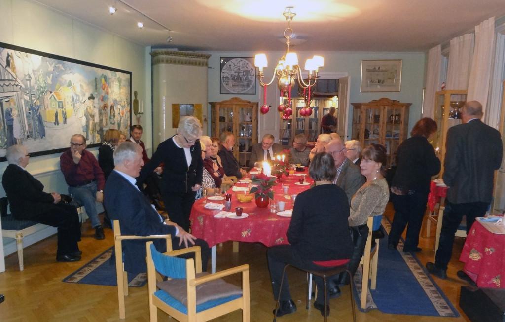 Samling i Föreningen Gamla Carlscronas lokal på Alamedan 11