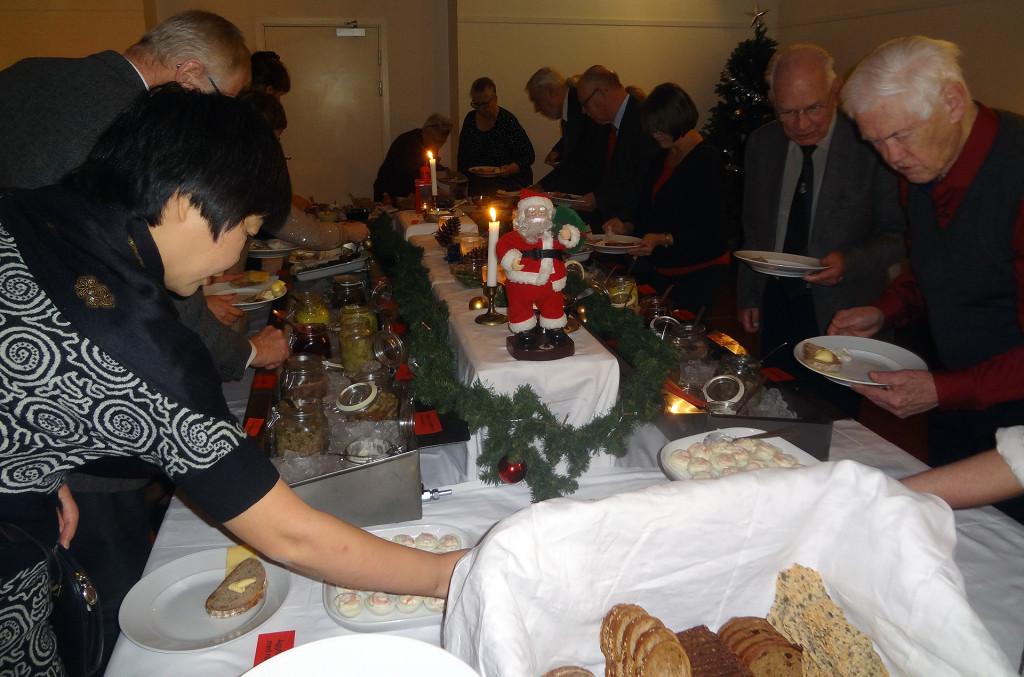 Julbord på Östersjöskolan 2016
