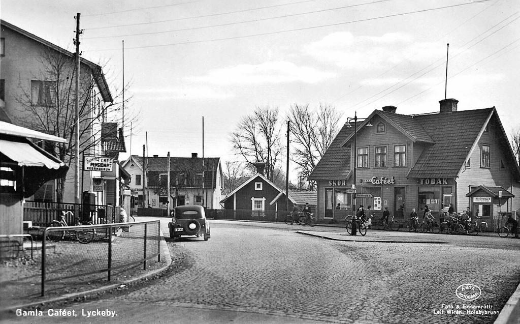 """Gamla Caféet"" i Lyckeby"