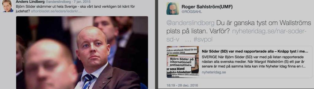 Sahlström retar Lindberg
