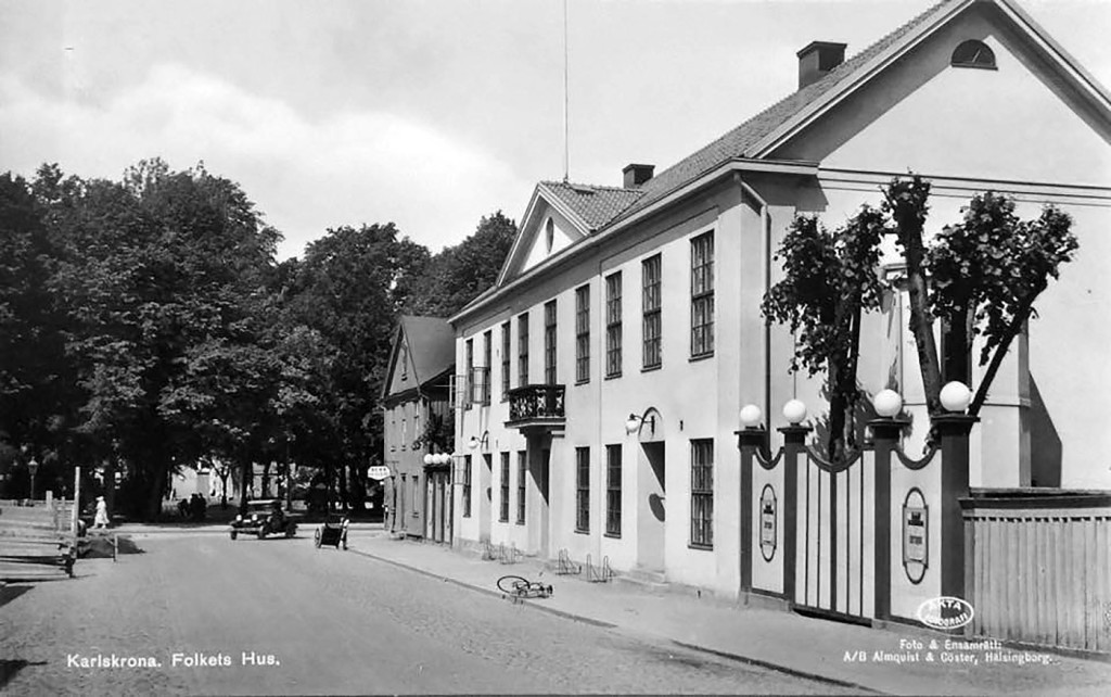 """""""Folkets Hus""""omkring 1940"""