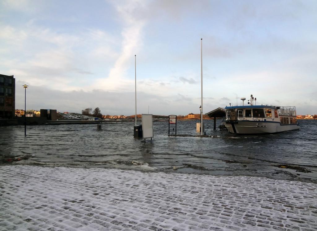 Gårdagens översvämning