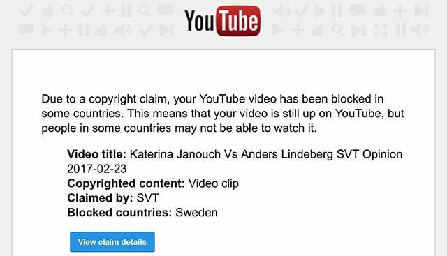 Lindberg vs. Janouch på SVT