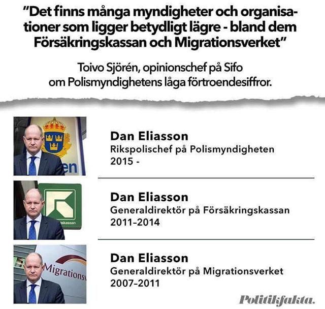 Dan Eliasson är den gemensamma nämnaren