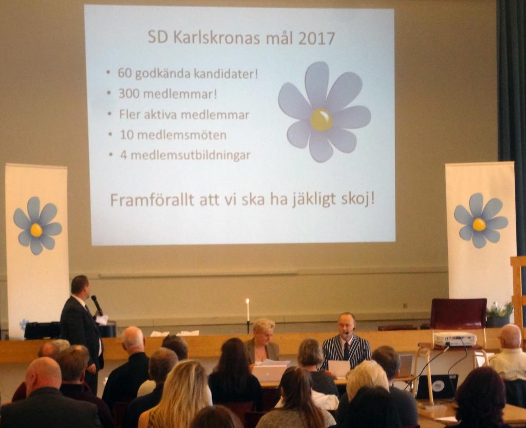 Välbesökt årsmöte i SD