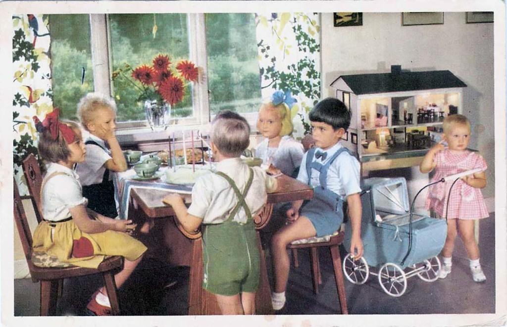 """""""Barnkalas"""" på 1940-talet"""