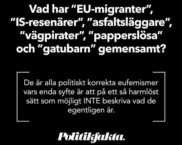 Sajten Politikfakta förklarar!