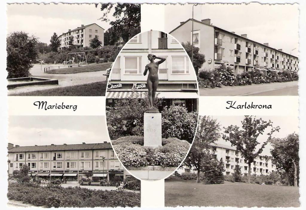 Marieberg på 1950-talet
