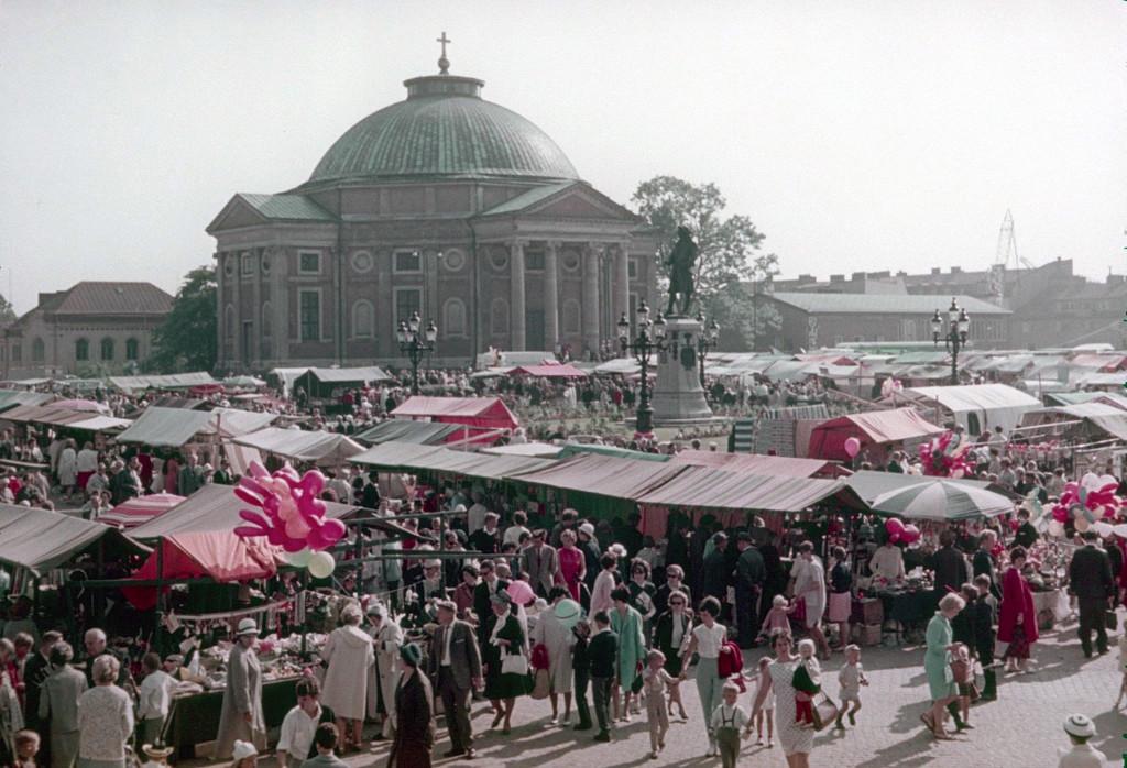 Lövmarknad 23 juni 1960