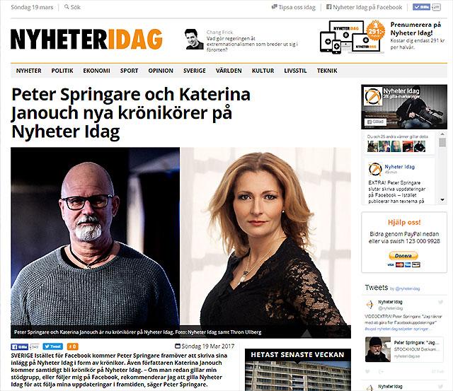 """""""Klipp"""" av Nyheter Idag"""
