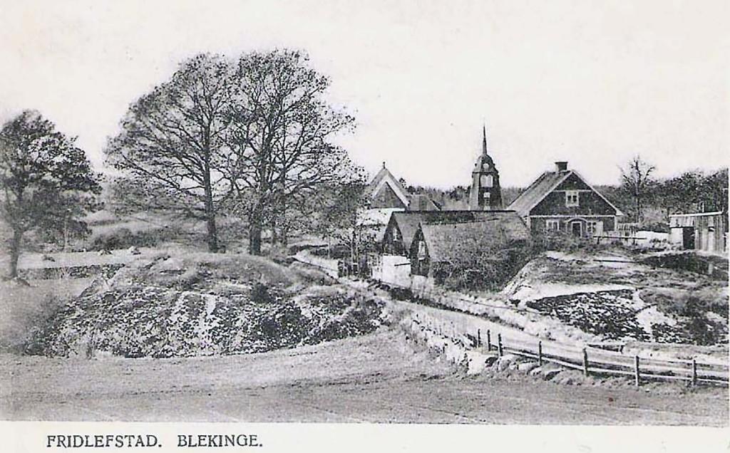 Fridlevstad omkring 1900