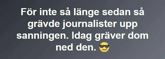 Grävande journalister...
