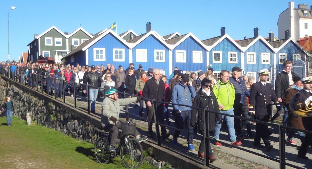 1 maj och revelj i Karlskrona