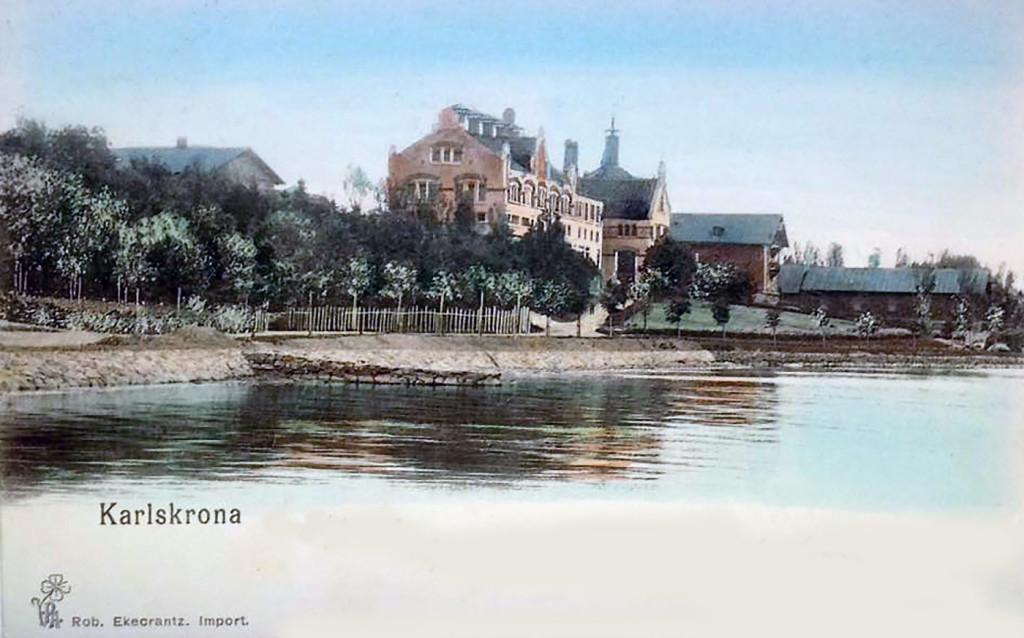 Tyska Bryggaregården 1900