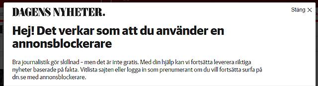 Humor hos DN och Nyheter24
