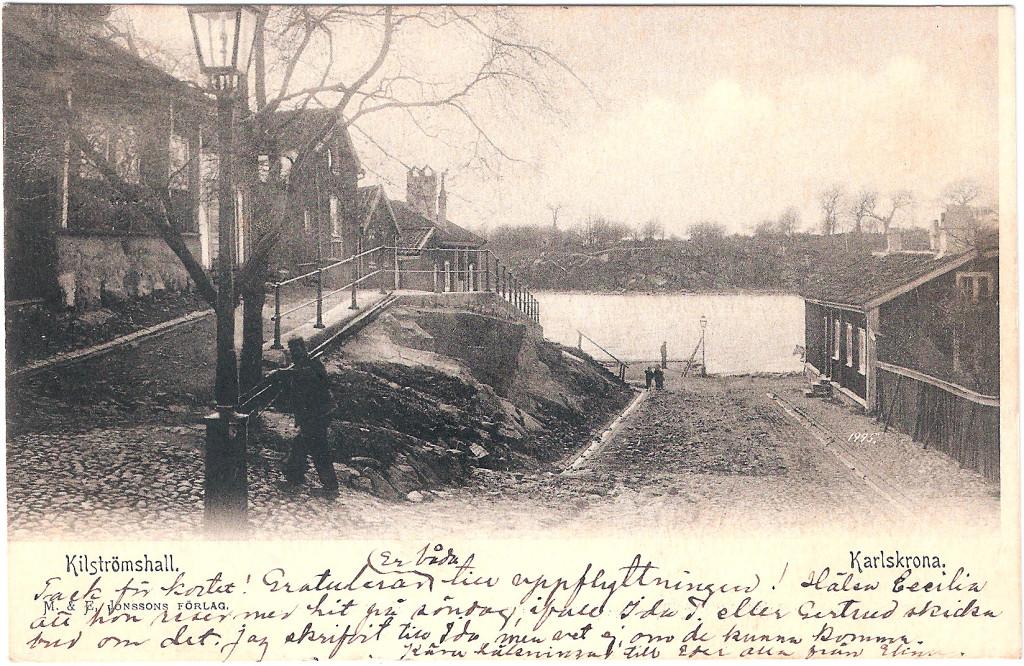 Kilströmshall år 1904