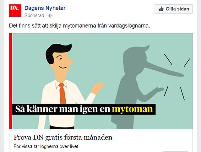 Självmål av Dagens Nyheter