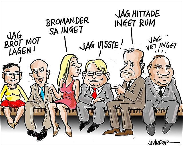 Humor om regeringskrisen