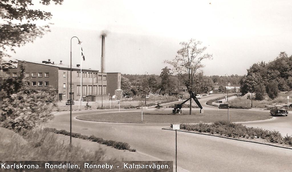 Rondellen med Ankaret 1957