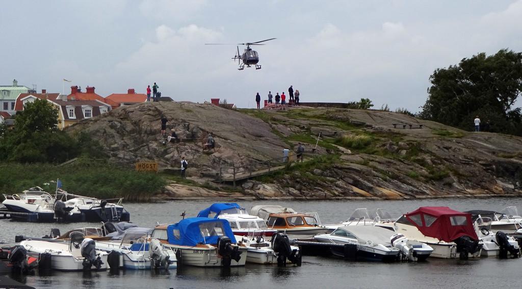 Helikopter från Stakholmen