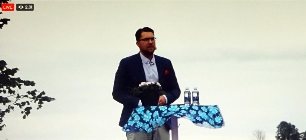 Jimmie Åkessons sommartal 2017