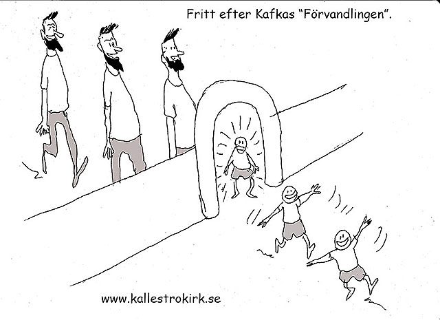 """Som Franz Kafkas """"Förvandlingen"""""""