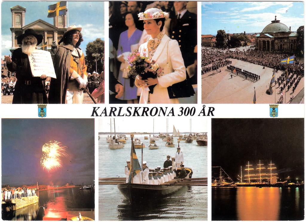 Karlskrona 337 år idag