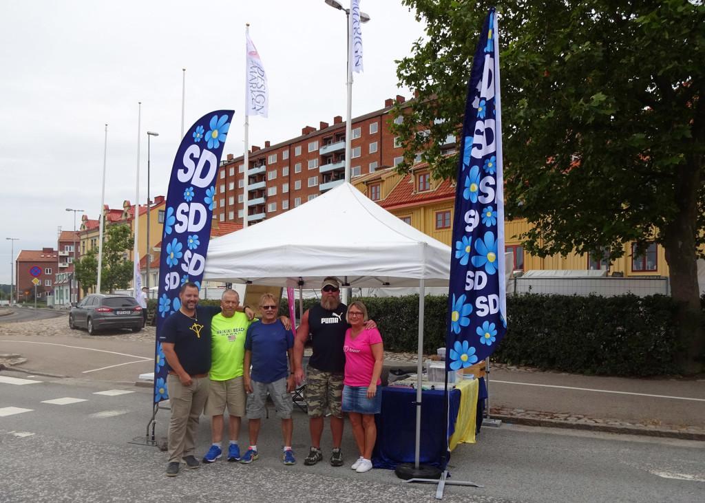 SD Karlskrona på Karlskrona Skärgårdsfest
