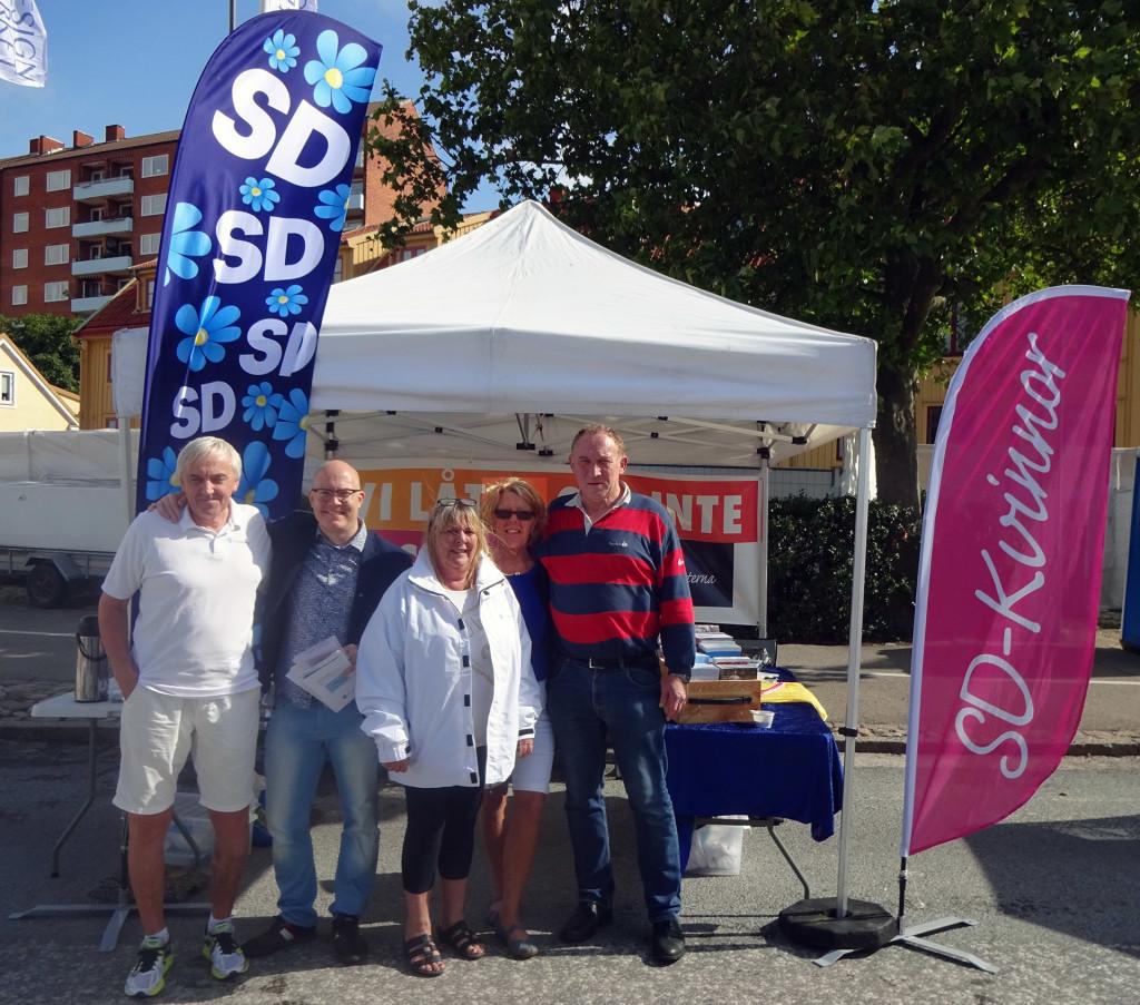 Dagens SD på Skärgårdsfesten
