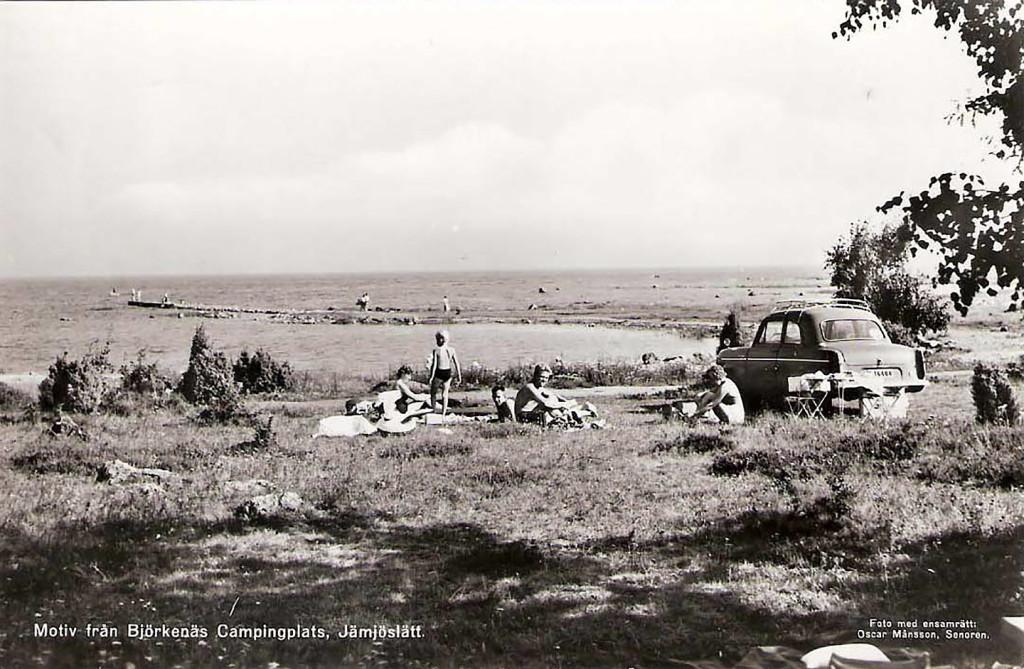 Björkenäs Camping 1962