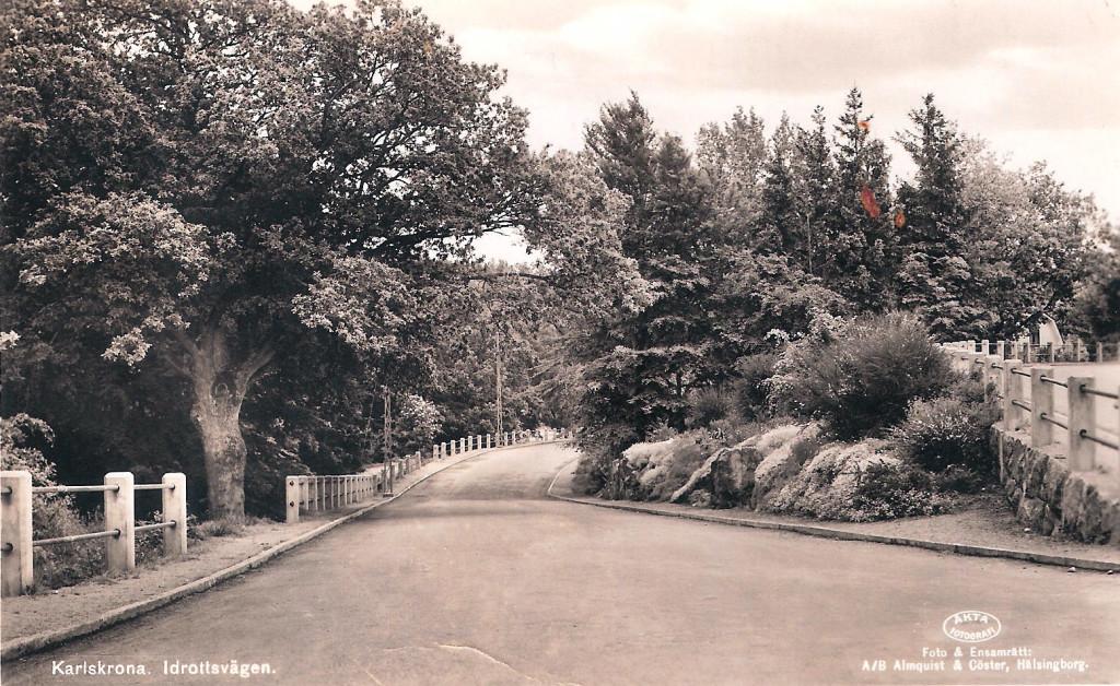 Idrottsvägen på Bergåsa
