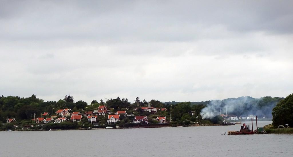 Brand på Brännareberget