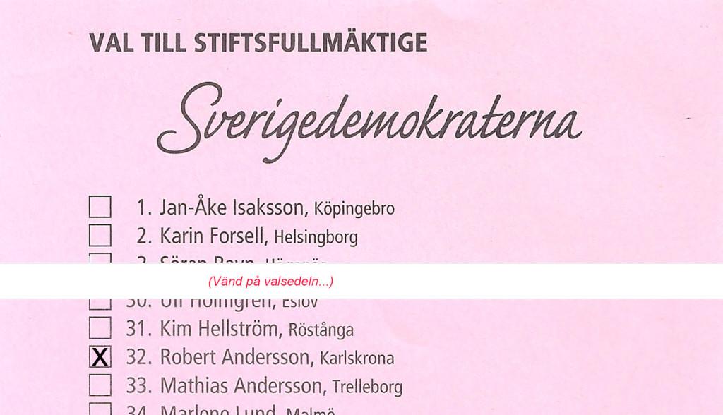 """Kryssa"" Robert Andersson"
