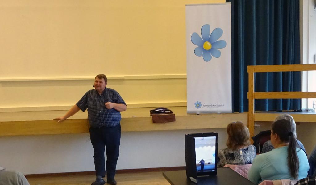 """Helt lysande föreläsning av Peter """"Nalle"""" Lundgren idag!"""