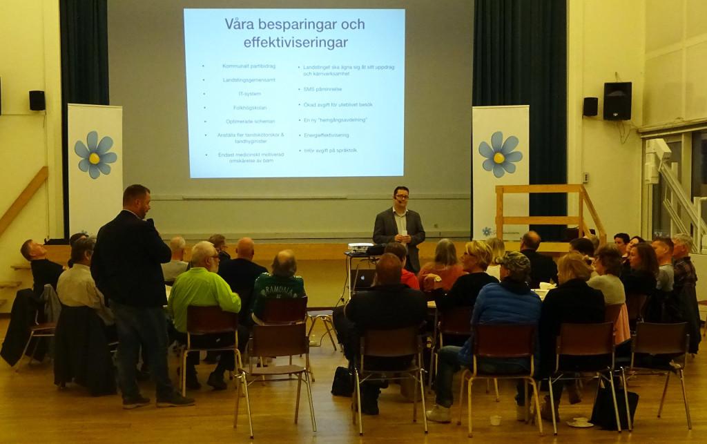 SD Karlskrona håller möte om Landstingspolitik