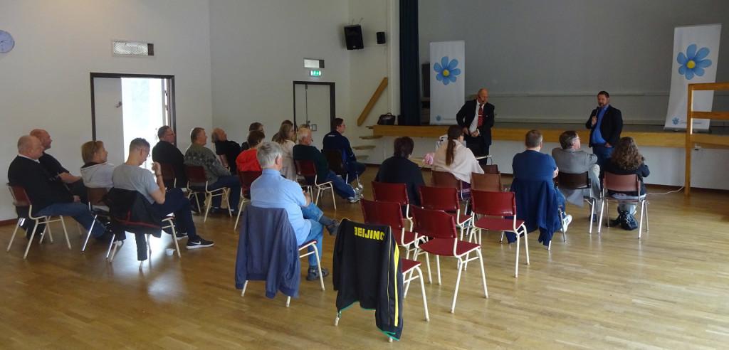 Medlemsmöte i SD Karlskrona med Sven-Olof Sällström