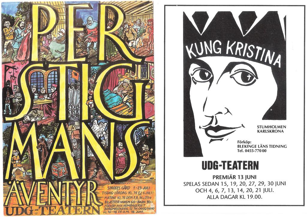 UDG-teatern 1983-1990