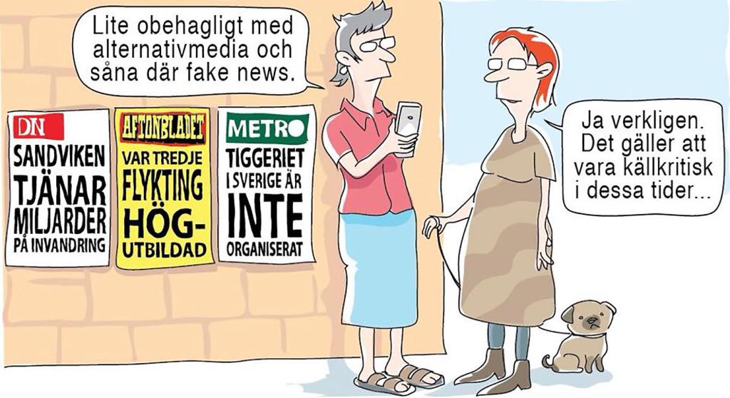 """Vilka är det som sprider """"fake news""""?"""