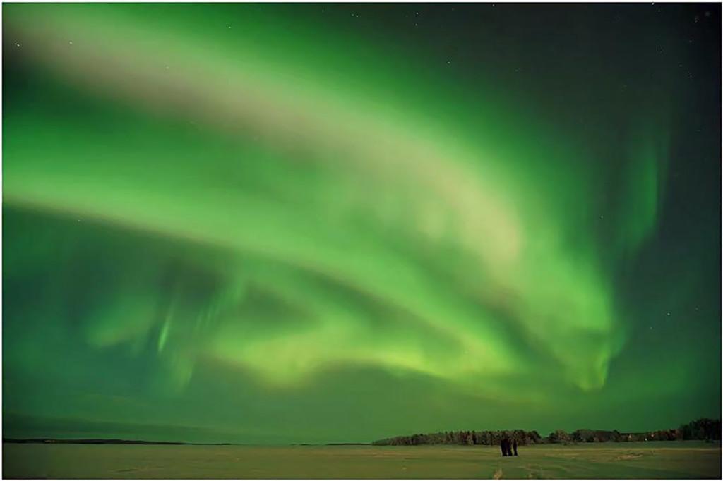 Magiskt norrsken i Inari