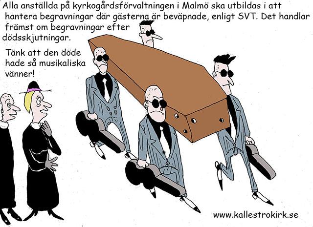 Begravningar i Malmö...